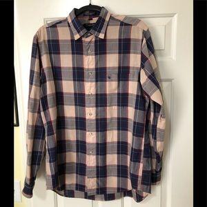 Christian Dior designer button shirt L